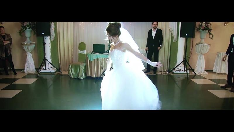 Крутой танец невесты