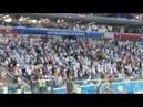 Фанаты Аргентины поют