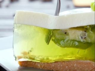 Желейный торт с киви   Больше рецептов в группе Десертомания