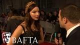 Anya Taylor Joy Loves The Shape of Water Red Carpet Interview EE BAFTA Film Awards 2018