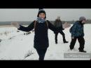 Теплая прогулка по зимнему Петяярви с Надей от insled