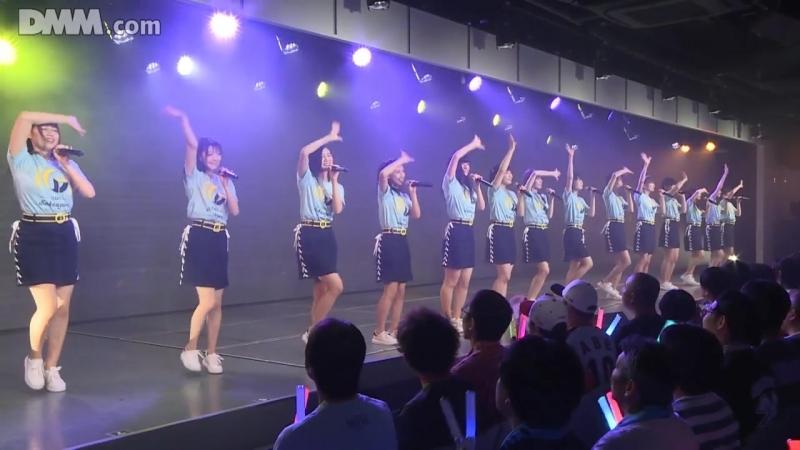 NGT48 Team G 1st Stage Sakaagari (День рождения Накамуры Аюки 2018.08.02) [часть 2]