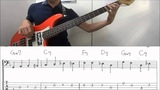 Walking bass line lesson on