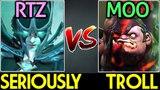 RTZ Phantom Assassin Seriously Carry VS Moo Pudge Trolling Carry 7.13 Dota 2