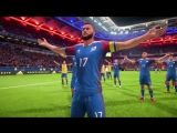FIFA 18 WORLD CUP MODE - ICELAND VIKING CLAP CELEBRATION | FC KEFIR