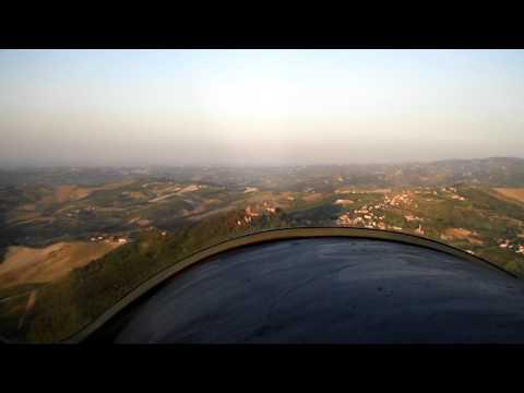 SAM 7836 VOLO SUL CASTELLO DI MONTALTO PAVESE CT2K F D 3800 RPM 160 KMh MOTORE POTENZA MINIMA CONTINUATIVA