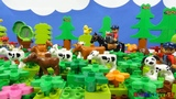 Строим из Lego Duplo, Build and Play toys Lego - Сows in the meadow (Коровы на лугу)
