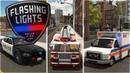 Обзор Flashing Lights - Police Fire EMS