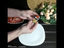 Рулетики из баклажанов с помидором и зеленью рецепт от