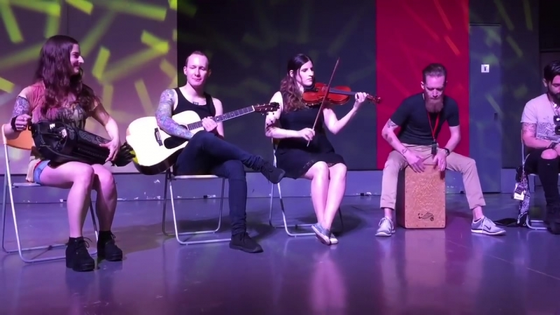 Eluveitie - AnDro and Carnution Forest - Live in Singapore 24.05.2016