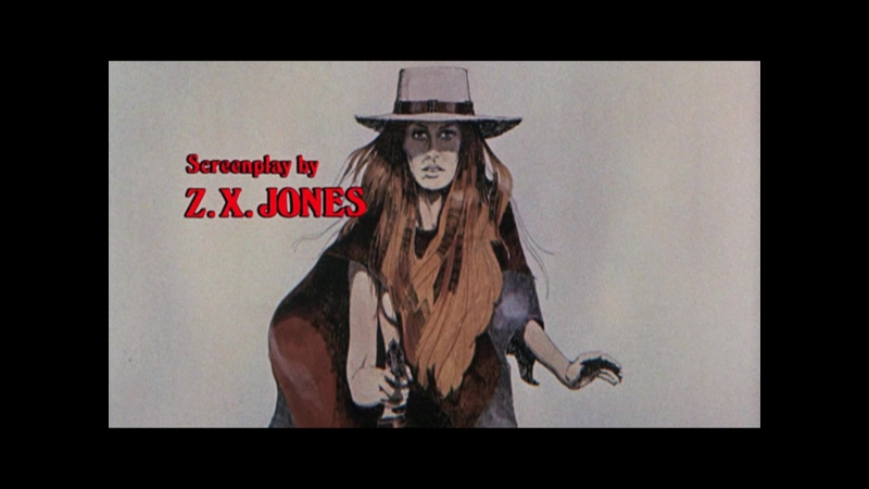 Hannie Caulder (1971) title sequence