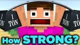 Proof Minecraft Steve Has UNLIMITED Power! The SCIENCE... of Minecraft
