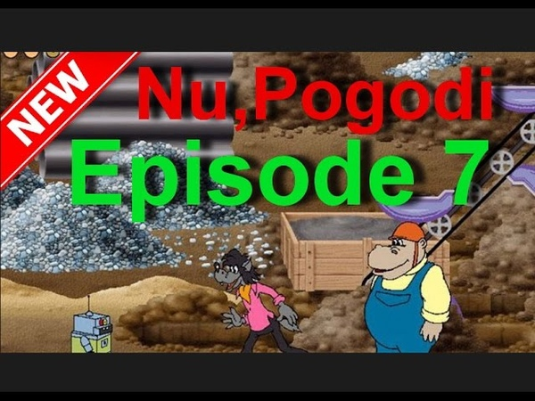 Nu,Pogodi ! Well,Hare,wait ! New series of 2017 cartoon game Chasing episode 7 in a career