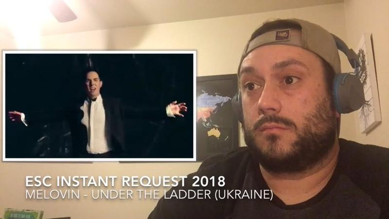ESC 2018 Reaction Request to MELOVIN of UKRAINE (UtL Music Vid)