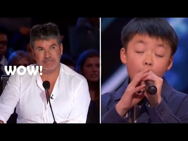OH.MY😱 13 Year Old FUTURE STAR Stuns The Crowd With His Golden Voice! America's Got Talent 2018