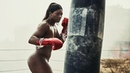 Boxing and Muay Thai Girls Demonstrate their Incredible Fighting Technique