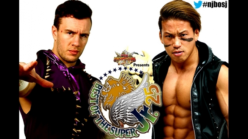 NJPW Best Of The Super Junior XXV - Tag 1- Taiji Ishimori vs Will Ospreay
