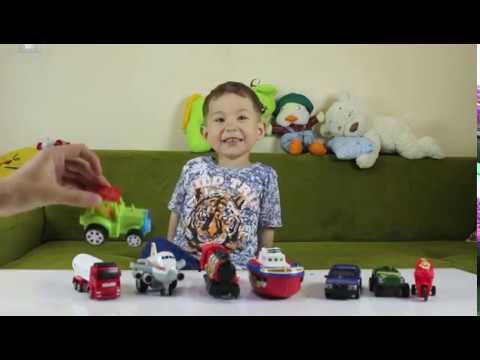 Araçları Öğreniyoruz-Traktör, Tır, Araba, Uçak, Gemi, Motor Oyunları