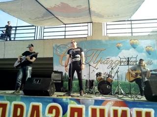 Петр Брок и Полугора Жук на Дне молодежи 21.07.18