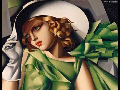 Tamara de Lempicka (1898-1980) Polish painter ✽ Francis Goya music