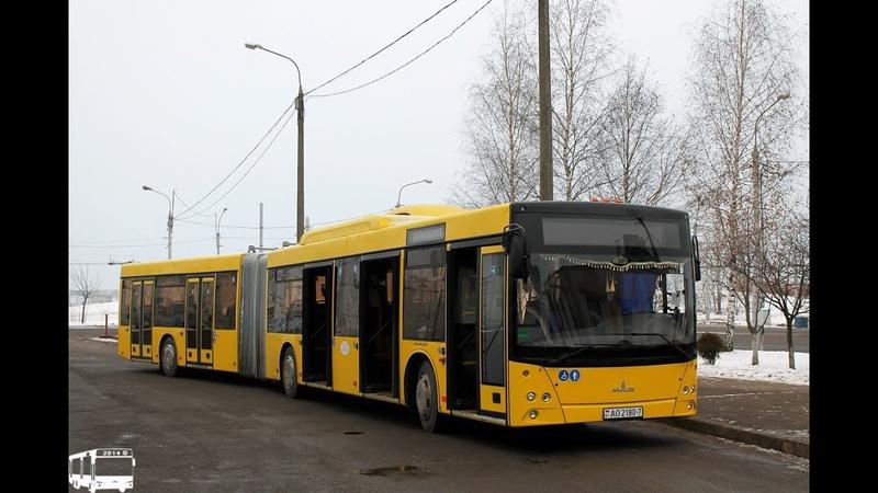 Автобус Минска МАЗ-215,гос.№ АО 2180-7, марш.40 (13.08.2018)