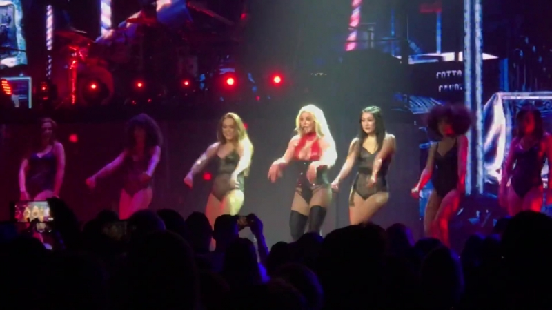 12.07.2018 - Breathe On Me - Britney Spears - Piece Of Me Tour - National Harbor, MD, USA