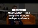 Своё дело. Как открыть веб-студию Глактионов Евгений – основатель веб-студии MAD LAND