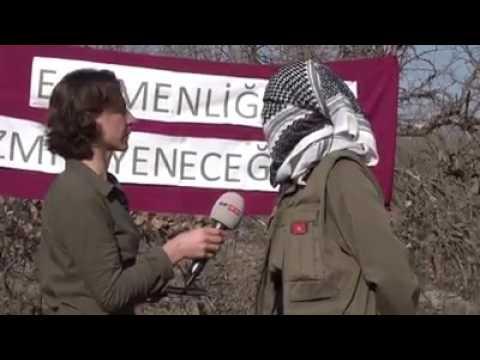 Maoist kadın gerilla birleşik kadın mücadelesi hakkında konuşuyor