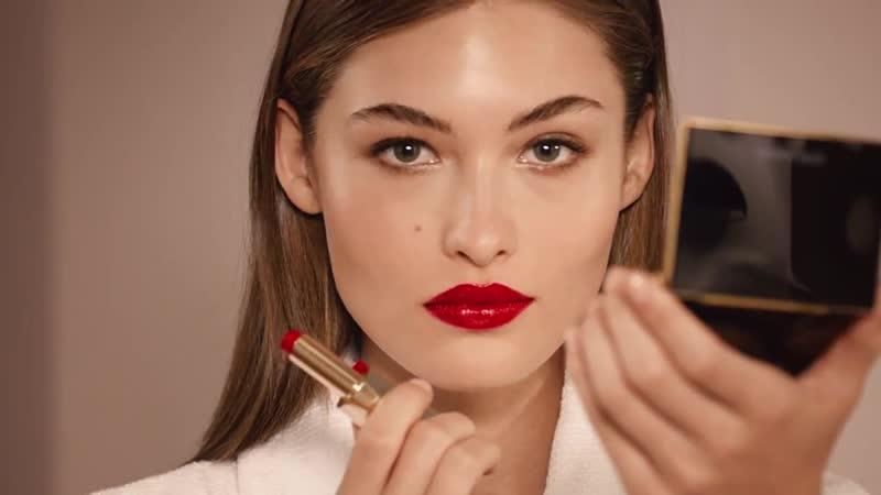 Get Grace Elizabeth's Pure Color Desire Lipstick Campaign Look