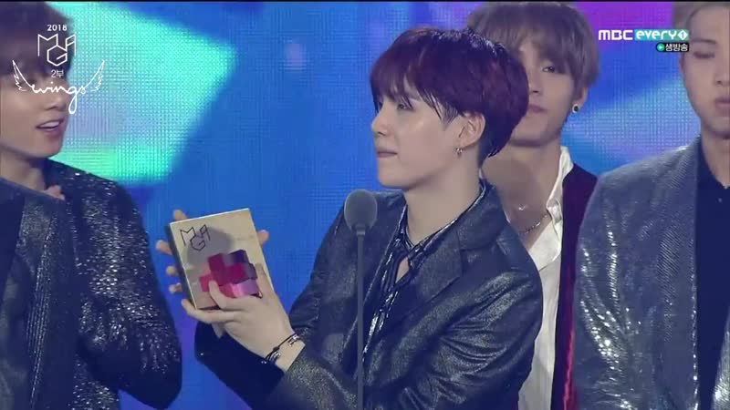 [RUS SUB] [РУС САБ] 181106 BTS wins Best Digital Album of the Year @ 2018 MGA
