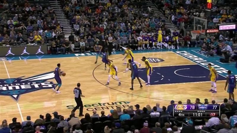NBA 2017-2018 / RS / 09.12.2017/Los Angeles Lakers vs Charlotte Hornets