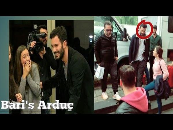Sometimes outdoor for our Turkish fans |Baris Arduç Elcin Sangu|