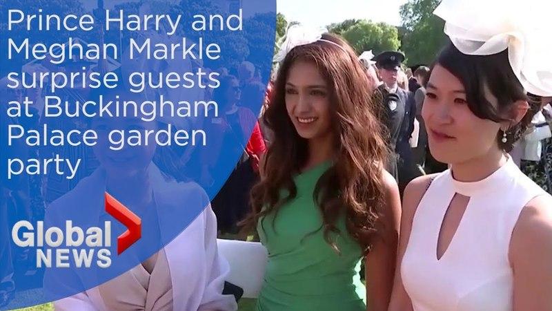 Гарри и Меган: Королевские поклонники реагируют на встречу с герцогом и герцогиней Сассекс