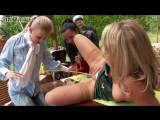 After A Nice Lunch These Three Babes Hook Up Then Pee All Over Each Other.mp4