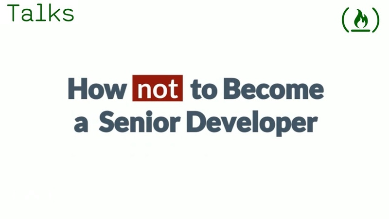 How not to become a senior developer (and what to do instead)