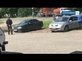 Ассенизаторы тушат грузовик в Иваново