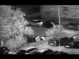 Двор дтп 01.07.18 Ивантос 2-я школьная д.7 ГН У031РС Ауди