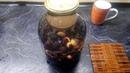 Закатываем компот из тёрна с ароматом ванили