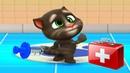 Мой Говорящий Том 2 НОВАЯ ИГРА 4 Друзья Анджела Хомяк Виртуальный питомец для детей Игровой мультик