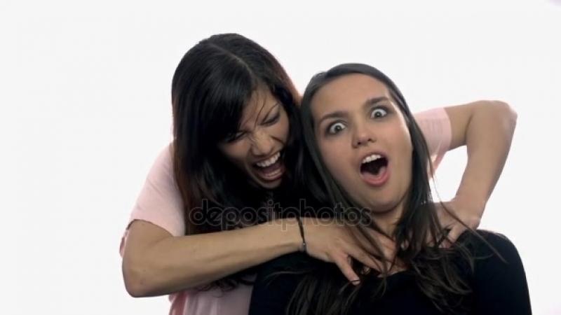Woman strangling woman