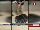 Турецкие таможенники обнаружили женщину в чемодане грузина.