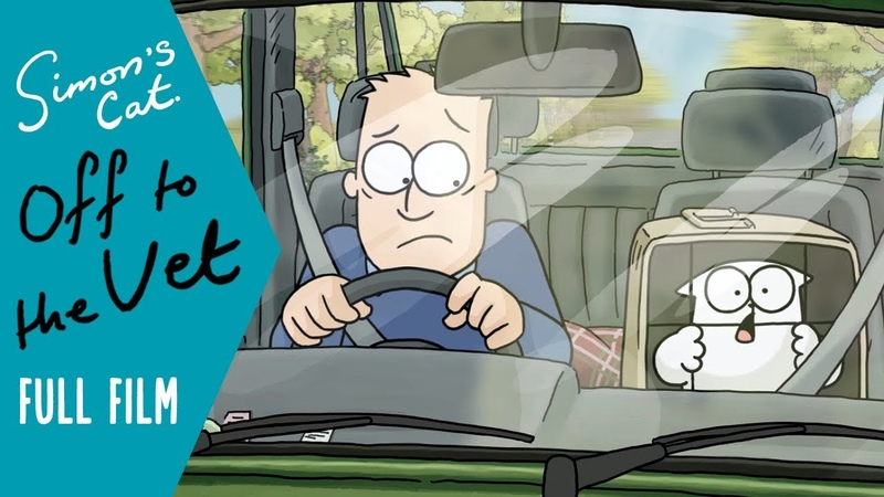 Off to the Vet (Full Film in COLOUR) I A Simon's Cat SPECIAL