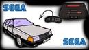 приставка SEGA в автомобиль ауди 100 с3 авант. часть 1