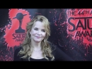 Lea Thompson and Echo Kellum attend the 44th Annual Saturn Awards at The Castaway in Burbank