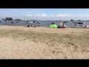 Детский пляж на острове