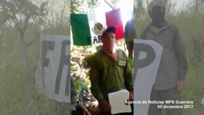 Mensaje de las FARP-Lp contra la guerra sucia del estado mexicano y los narcoparamilitares