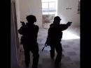 Тренировка СпН РФ в Сирии.
