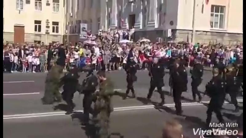 10 мая 2018 в 18:10 Суровые страйкболисты стали изюминкой парада Победы 9 мая🇷🇺💪👍