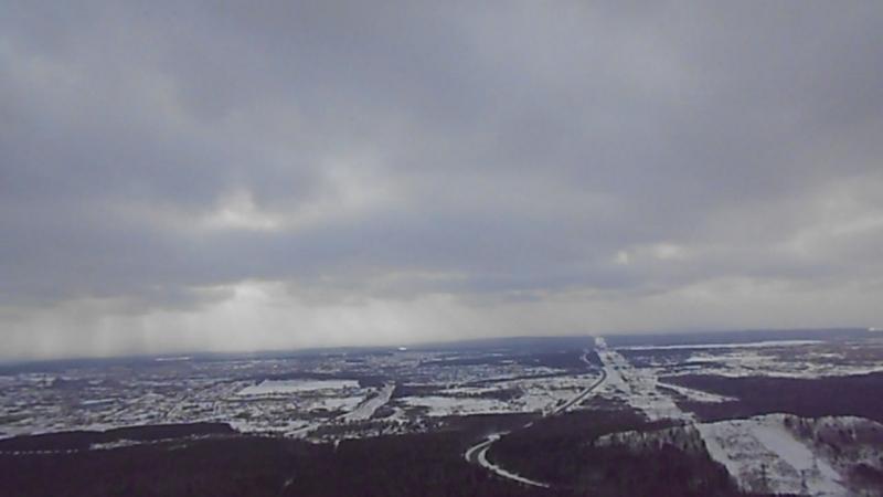 Обзор с вершины горы Волчихи