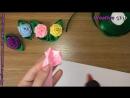 Розы из лент без нитки и иголки Рукоделие из лент ٠ ●CreativeClub● ٠